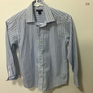Tommy Hilfiger Button Down Shirt Boys Size 10
